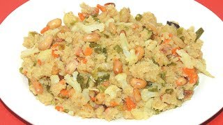 ব্রেকফাস্ট বা টিফিনে Jhal Suji Rezept - Einfache Frühstück Rezept In Bengali - Kids Lunch-Box-Rezept
