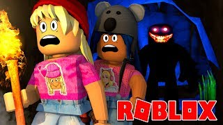 GETS HUNTED BY MONSTERS IN ROBLOX-PART 3