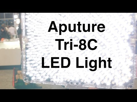 Aputure Amaran Tri-8C LED Panel Light - NAB 2017