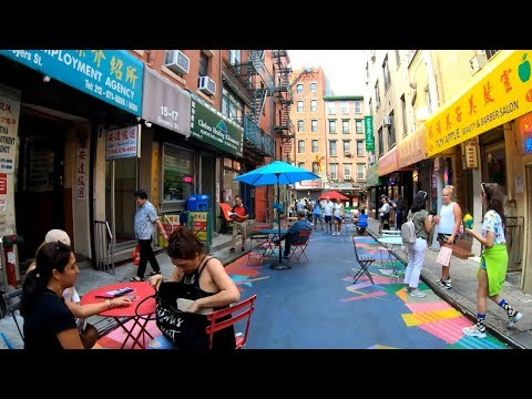 ⁴ᴷ⁶⁰ Walking NYC (Narrated) : 14th Street - Union Square to World Trade Center (August 8, 2019)