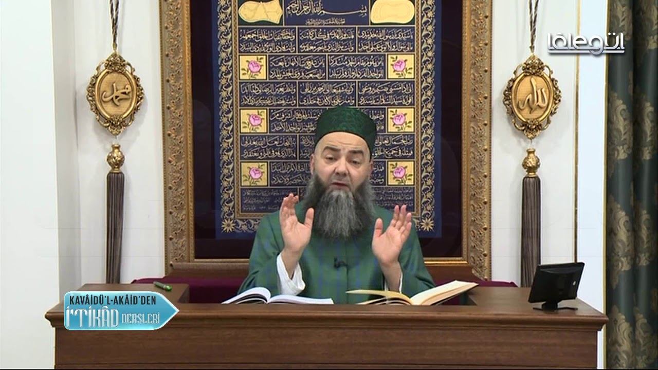 Kavâidül Akâid İtikâd Dersleri 9.Bölüm 17 Ocak 2018 - Cübbeli Ahmet Hocaefendi Lâlegül TV