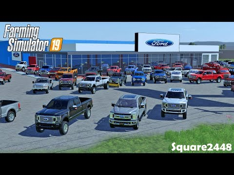 2020 SuperDuty's Arrive! | Ford Dealership | New Inventory | Used Trucks | Farming Simulator 19