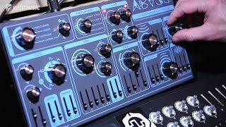Superbooth 2017 - Dreadbox Abyss 4 Synthesizer plus Demo