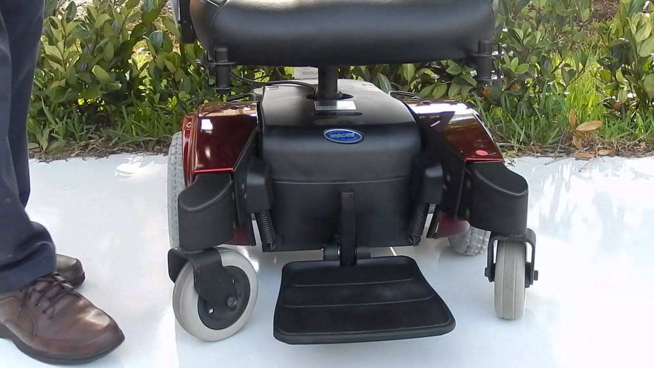 "Red Pronto M51 ""Like New Power Chair"""