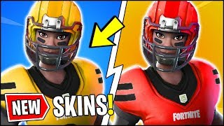 *ALL* Fortnite v6.22 NFL SKINS & STYLES!! | NEW LEAKS, ITEM SHOP, WHISTLE WARRIOR (Fortnite Update)