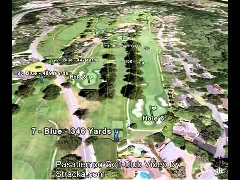 Cool Flyover Tour of Pasatiempo Golf Cub Presented by The Edge on Golf in Los Gatos