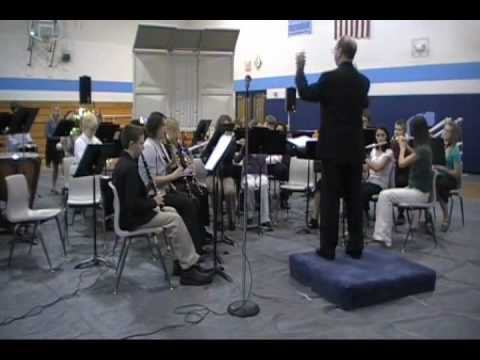 Three Spanish carols part 1 WACO Junior High Concert Band