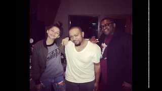 Timbaland in the studio with Zendaya Coleman! Music on FIRE! Hot HITS coming in 2015!