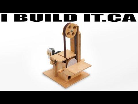 How To Make A Belt Sander / Disk Sander Combo