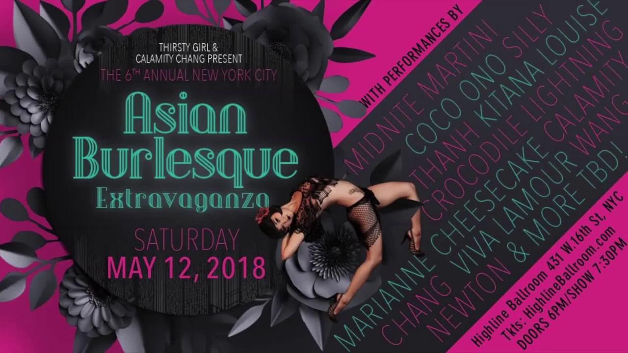 Asian burlesque video