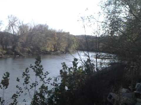 An Island on the Tuscarawas River at Newcomerstown,Ohio