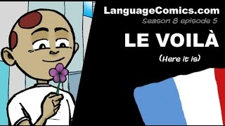 Cartoon in French with english subtitles ~ S8e5 - Le voilà (le printemps)