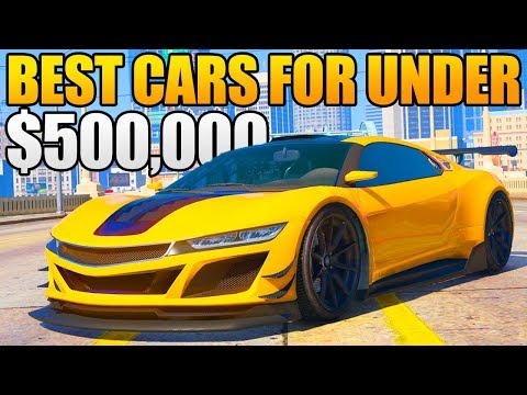 GTA 5 ONLINE - TOP 5 BEST CARS FOR UNDER $500,000! (GTA 5 Best Rare & Underrated Cars)