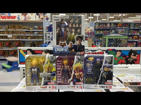 EPIC TOY HUNTING AT TOYSRUS-SH Figuarts & More!!!