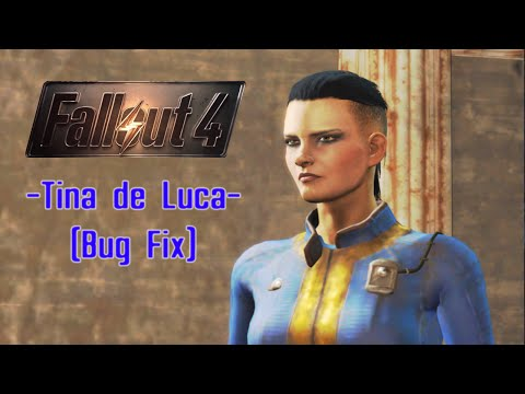 Fallout 4 - How to get Tina de Luca on your settlements (Dependency Bug Fix)