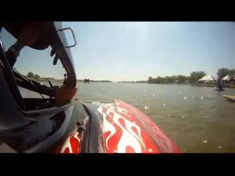 Lucas Oil Drag Boats - 2011 - San Angelo, TX (Round 3)