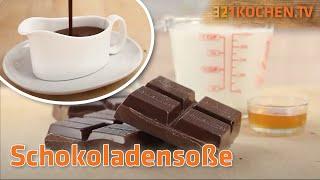Rezept für cremige Schokoladensauce