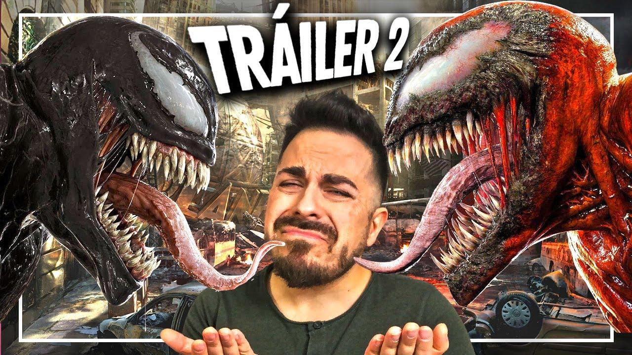 😝 VENOM ES UN LOQUILLO 😝 Tráiler 2 de Venom: Let There Be Carnage ¡El diseño de CARNAGE brutal!