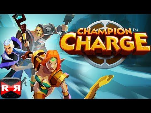 Champion Charge - RPG Runner - iOS - iPad Mini Retina Gameplay