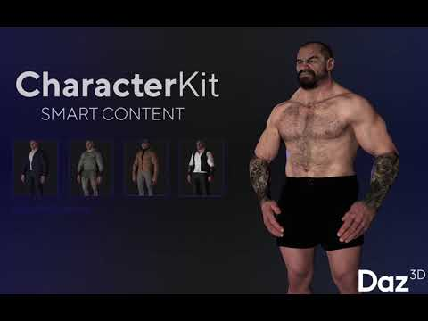 Smart Content with Daz 3D