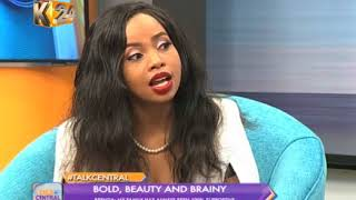 Talk Central: One on one with actress Brenda Wairimu (Part 1)