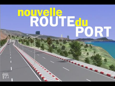 وهـران: طـريق المـيـنـاء الـجـديـد | ORAN: Nouvelle Route du Port