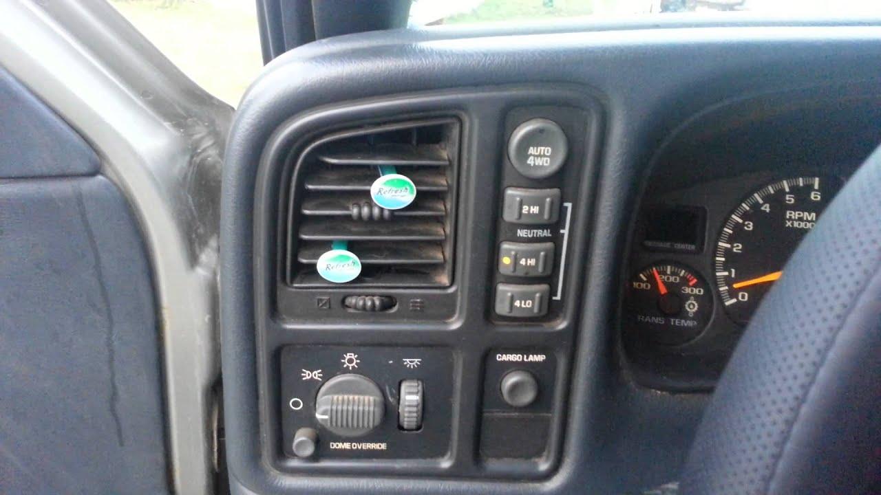 1999 Chevy Silverado 2500 4x4 problems. Part two. - YouTube