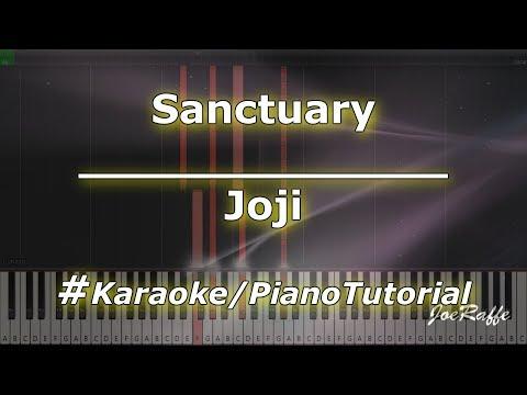 Joji - Sanctuary KaraokePianoTutorialInstrumental