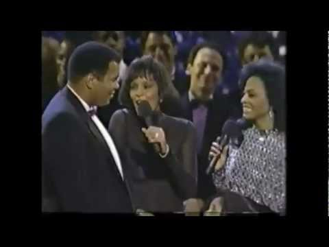 Whitney Houston, Diana Ross - You've Got a Friend - Tribute to Muhammad Ali 50th Bday
