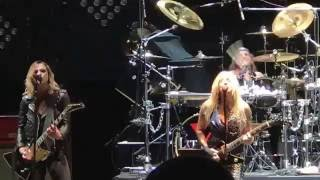 Lita Ford and Lizzy Hale performing Cherry Bomb at The Stanley Theater on 10/29/16 in Utica N.Y.