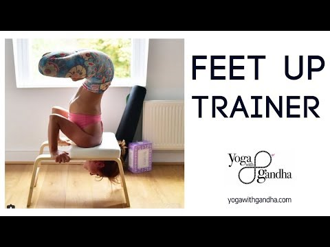 Yoga Inversions for Beginners – Feet up trainer
