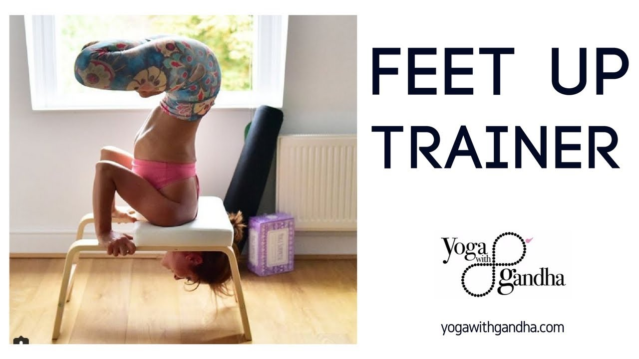 Yoga Inversions For Beginners Feet Up Trainer Youtube