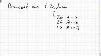 06B.7 Passwort mit einem Großbuchstaben und einer Ziffer