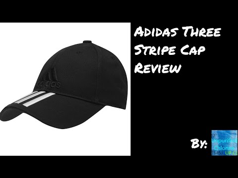 Black Three Stripe Adidas Cap Full Review