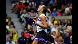Sofia Kenin vs. Madison Keys | US Open 2019 R3 Highlights