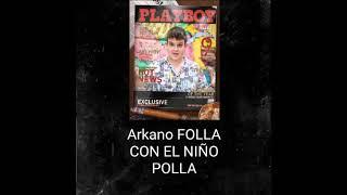 Arkano En revista Porno Junto A Jordi EL NIÑO POLLA