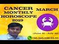 Cancer March Monthly Horoscope 2019 Cancer March 2019 Forecast In urdu dr mazhar waris