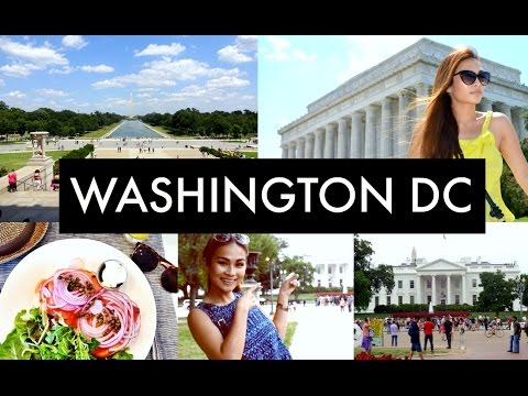 TRAVEL WITH ME: Washington DC ⎟TAYA SUNAZ