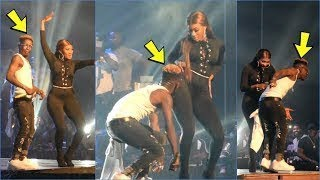 Wendy shay performs with shatta wale on stage/ ghana music/ ghana news