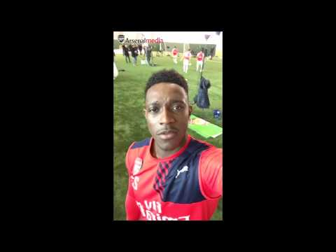 Welbeck and the Ox's Arsenal Snapchat takeover!