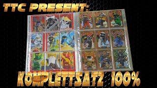 LEGO Ninjago Trading Card Game Serie 4 MAPPENUPDATE alle 252 Karten + alle 25 Limitierte