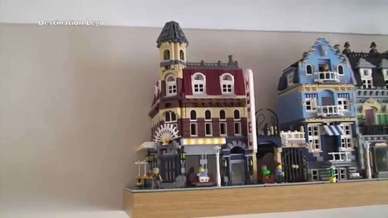 Lego Cafe Corner Set 10182 Modular Building Review 2007