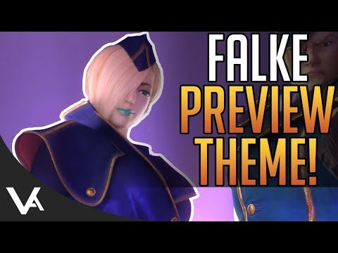 SFV - Falke Preview Theme Song For Street Fighter 5 Arcade Edition! Extended OST