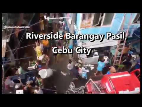 Breaking News Fire at Riverside Barangay Pasil, Cebu City