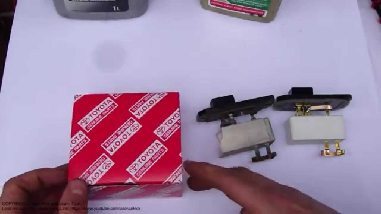 How to notice bad resistor in Toyota blower or fan Issues in fan or blower speeds  YouTube