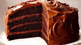 How To Make A Chocolate Cake | The Most Satisfying Cake Video In The World