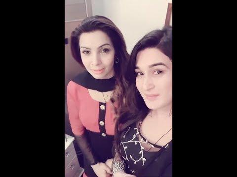 Sahar khan with Miss Mardan [Ahmad]
