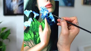 Oil Painting Time Lapse  