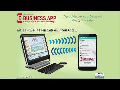 eBusiness Setup Marg ERP [English]