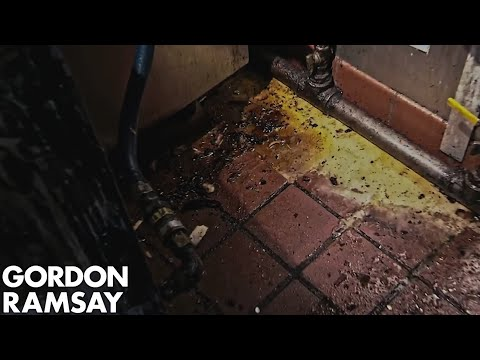 Gordon Shocked At The State Of Disgusting Kitchen | Hotel Hell